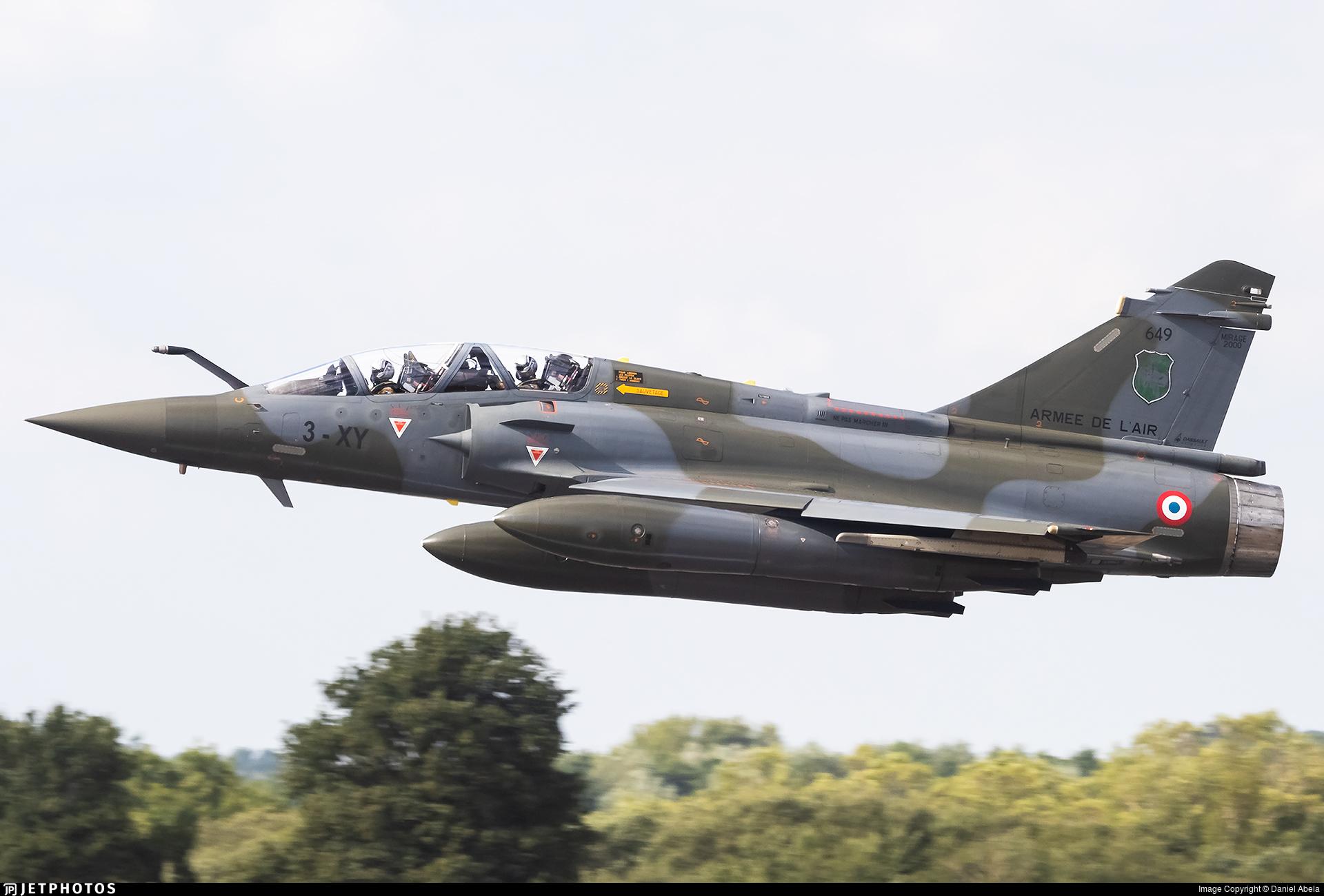 649 - Dassault Mirage 2000D - France - Air Force