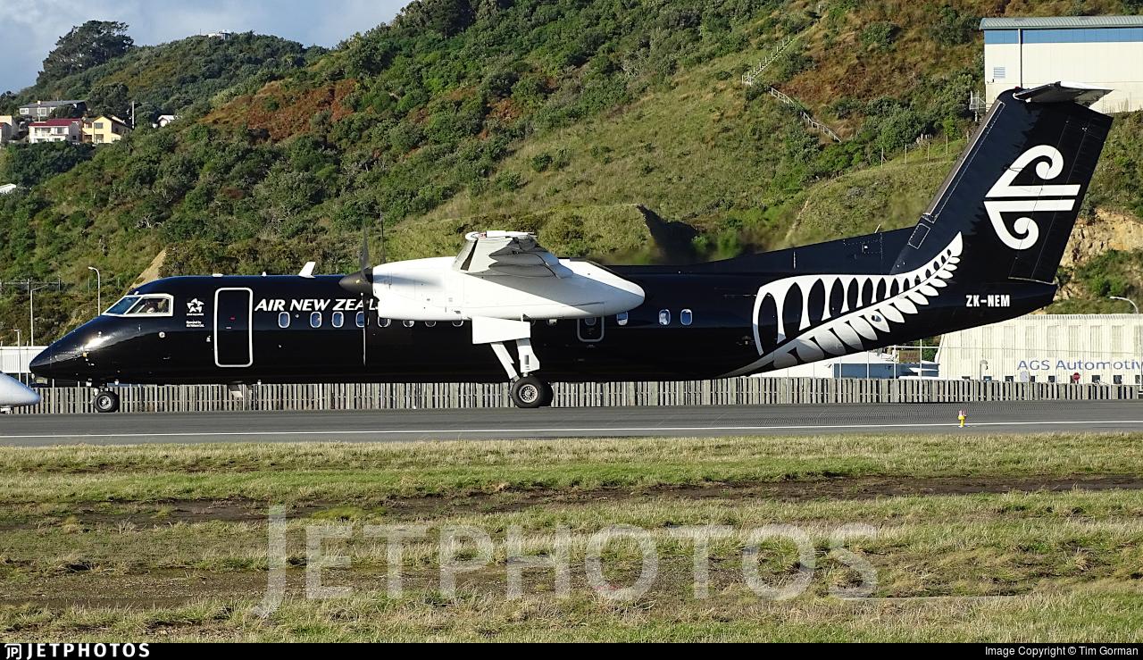 ZK-NEM   Bombardier Dash 8-Q311   Air New Zealand Link (Air