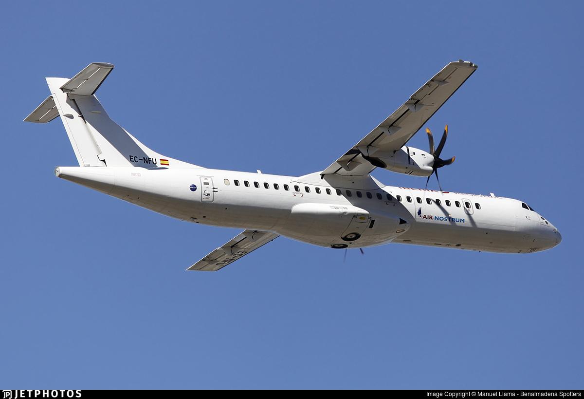 EC-NFU - ATR 72-212A(600) - Air Nostrum