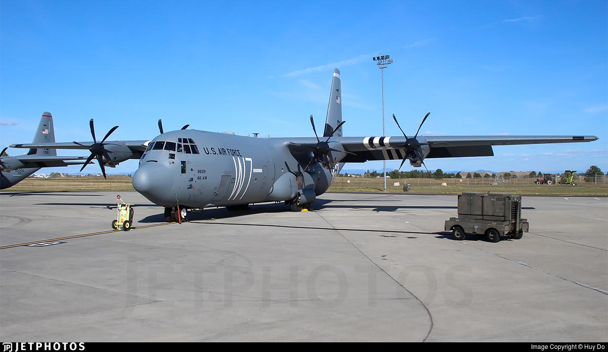 078609 Lockheed Martin C130J30