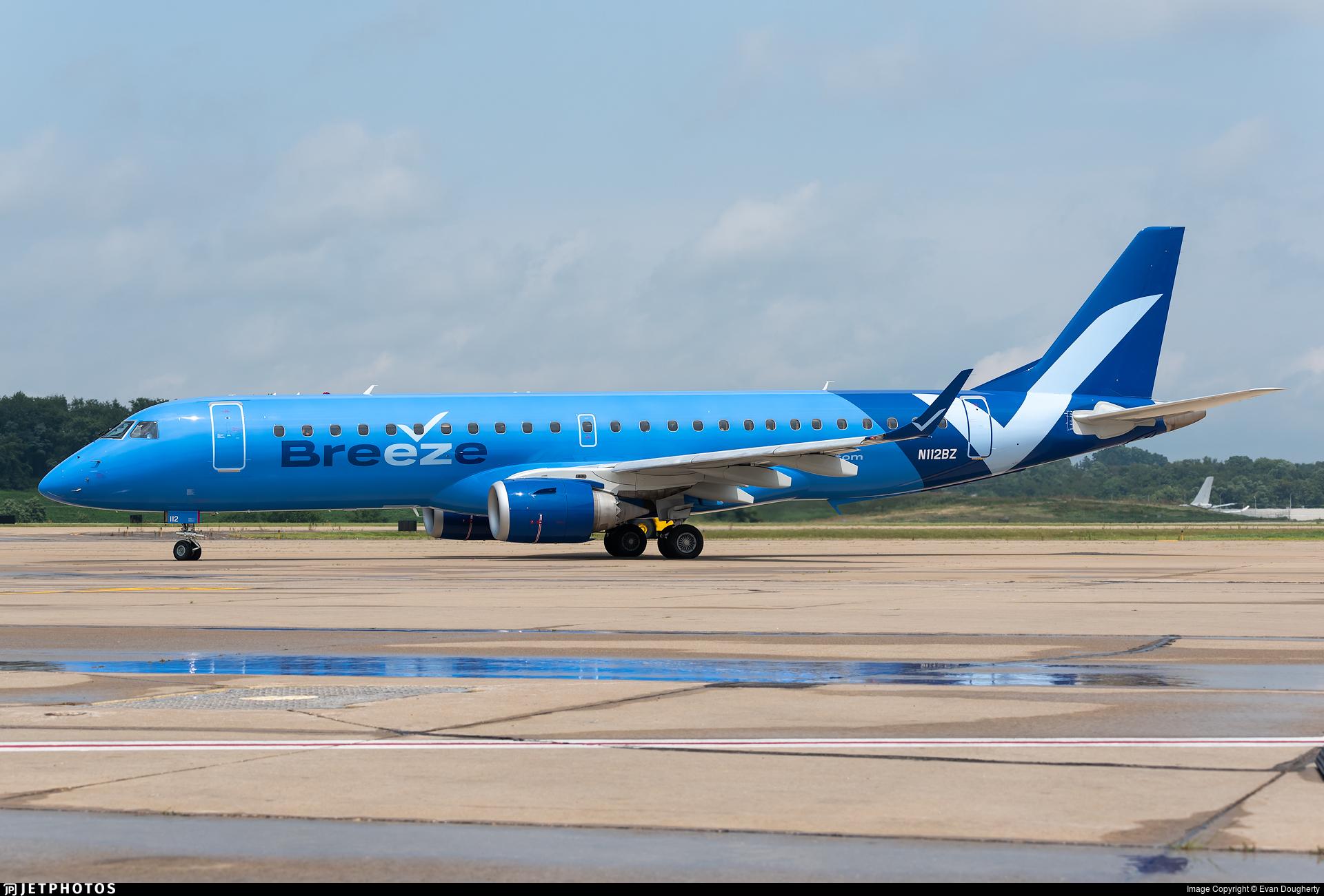 N112BZ - Embraer 190-100IGW - Breeze Airways