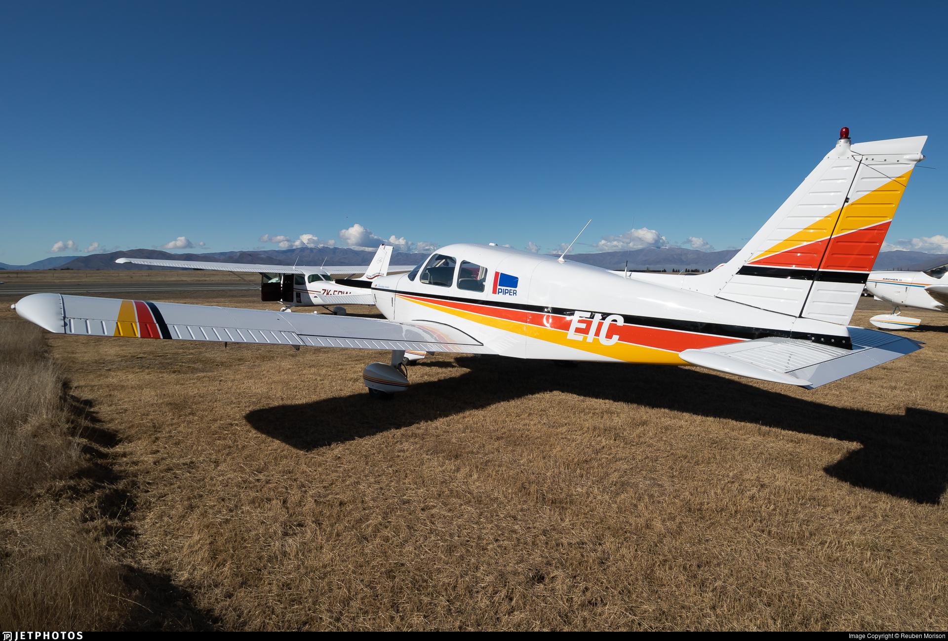 ZK-EIC - Piper PA-28-140 Cherokee Cruiser - Private