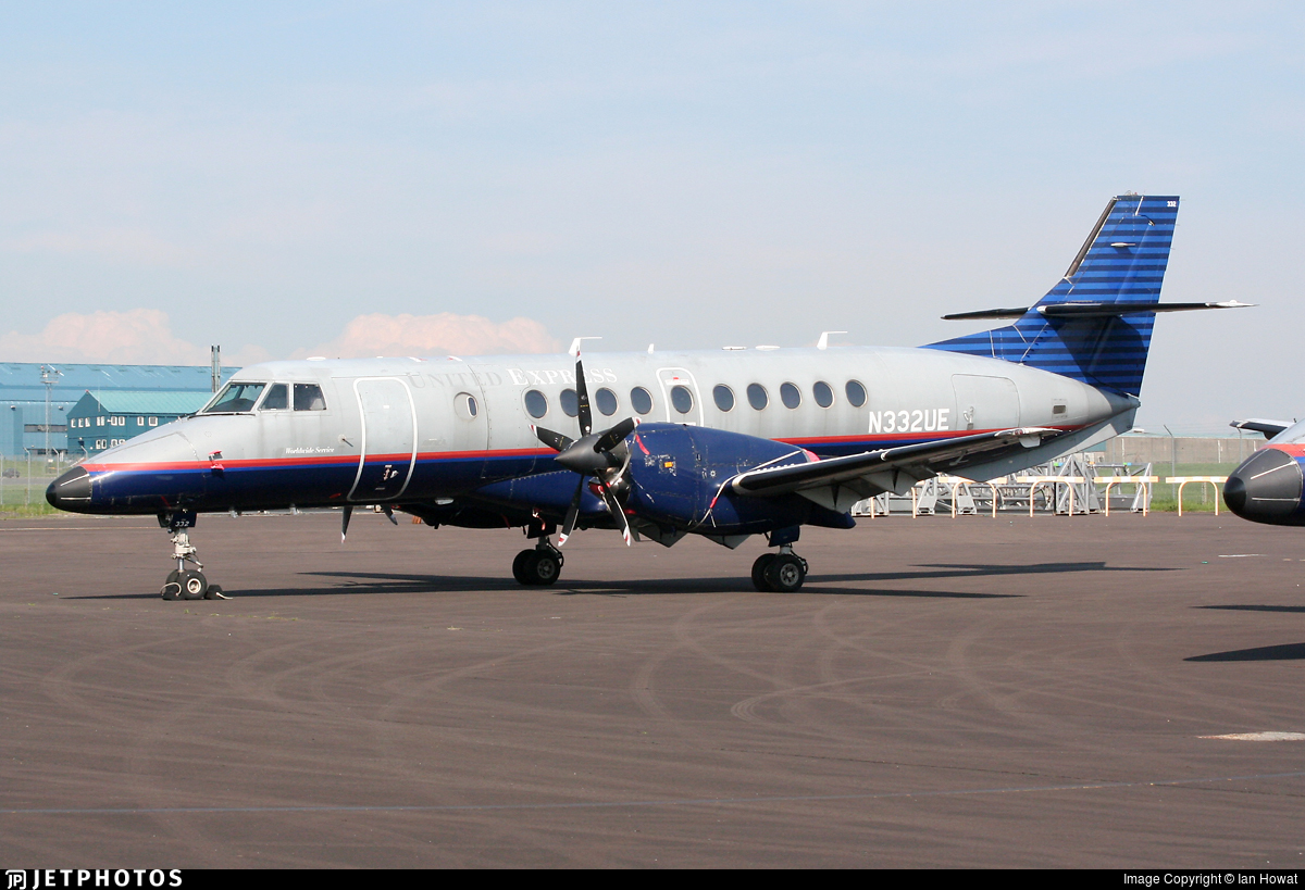 N332UE - British Aerospace Jetstream 41 - United Express (Atlantic Coast Airlines)