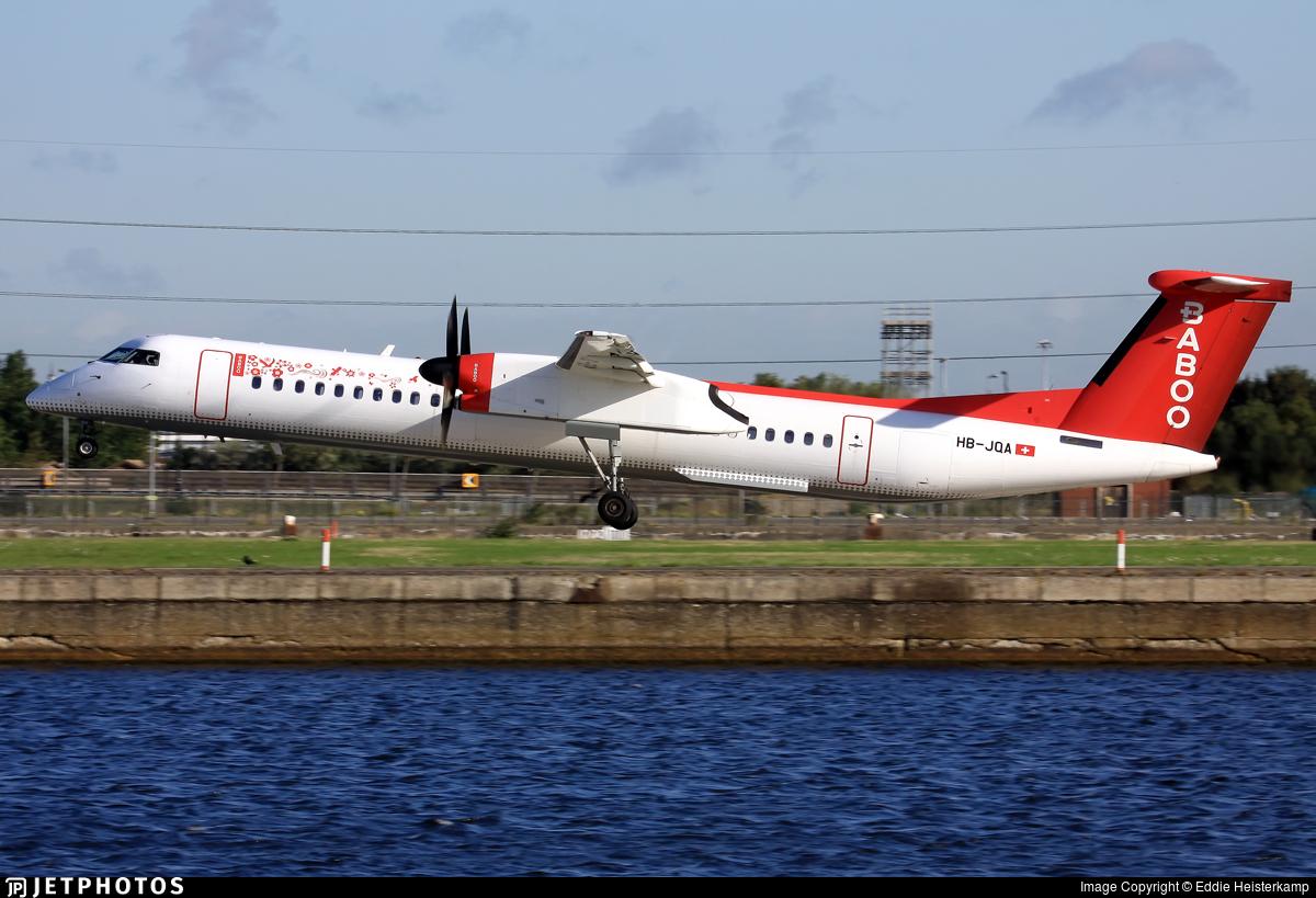 HB-JQA - Bombardier Dash 8-Q402 - Baboo