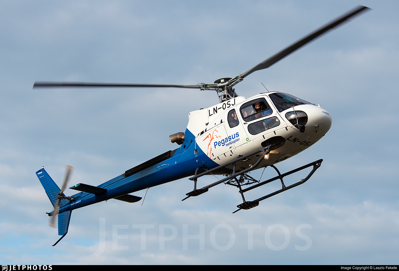 LN-OSJ - Eurocopter AS 350B3 Ecureuil - Pegasus Helicopters