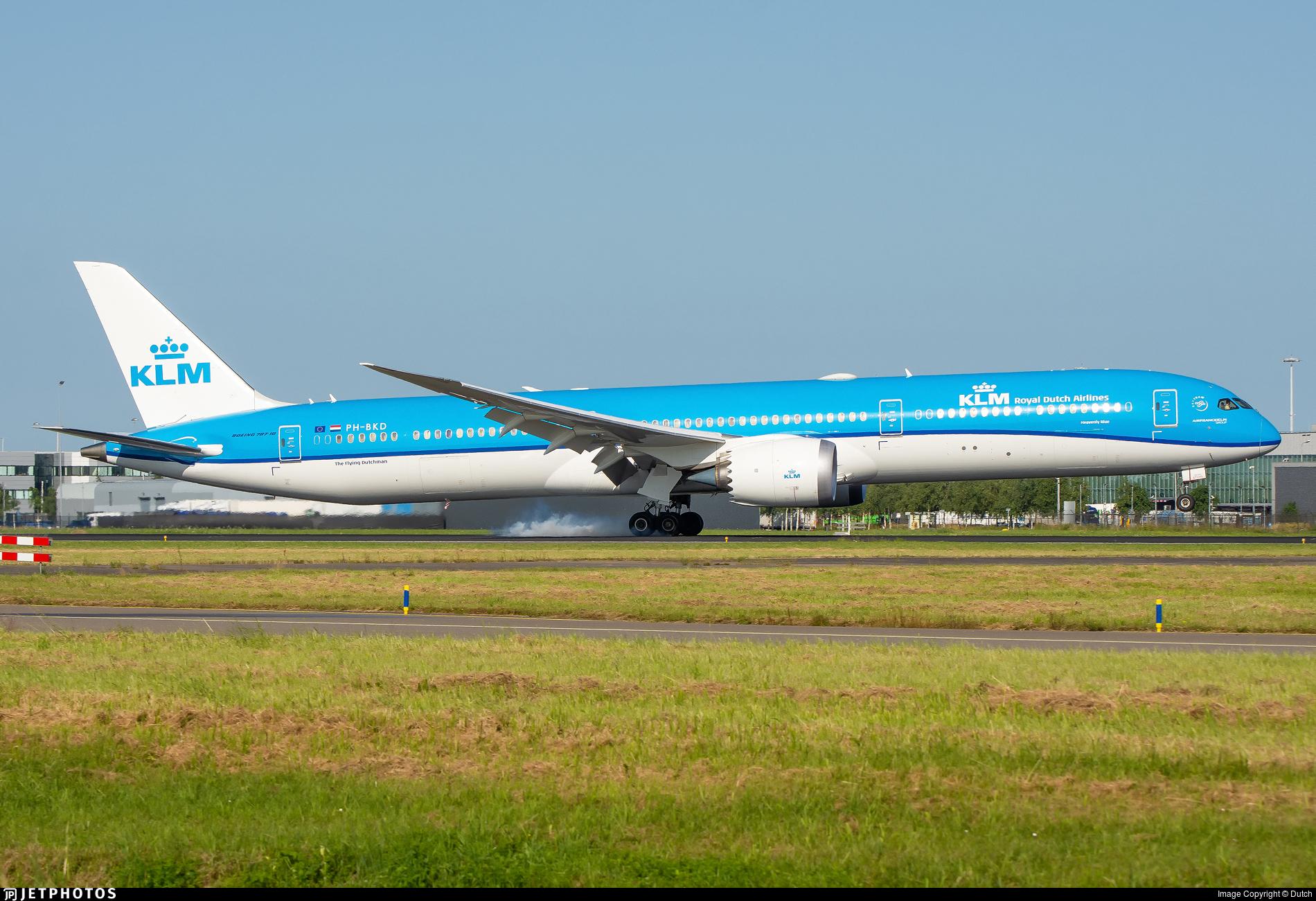 PH-BKD - Boeing 787-10 Dreamliner - KLM Royal Dutch Airlines