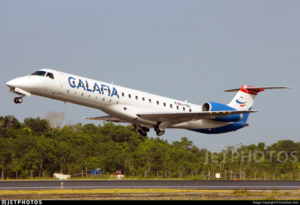 XA-TBY - Embraer ERJ-145LR - Aéreo Calafia