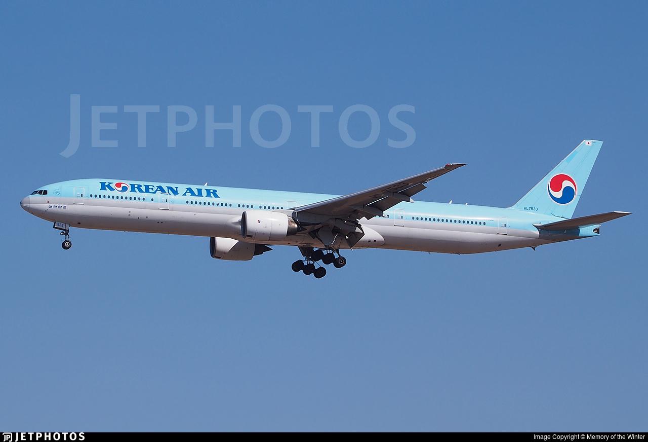 HL7533 - Boeing 777-3B5 - Korean Air