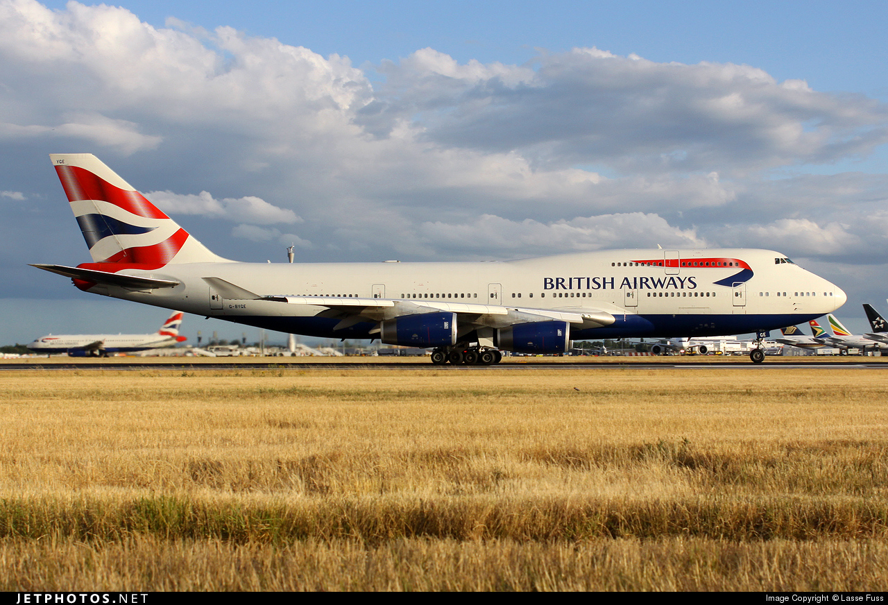 G-BYGE - Boeing 747-436 - British Airways