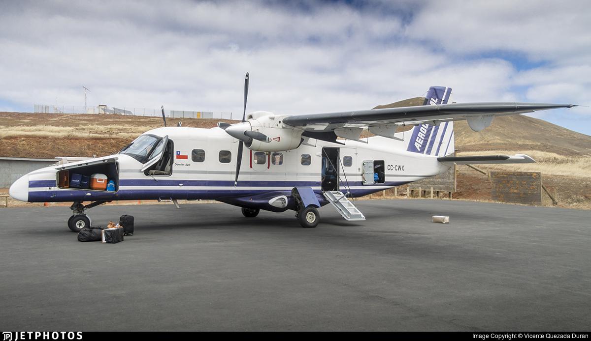 CC-CWX - Dornier Do-228-101 - Aerocardal