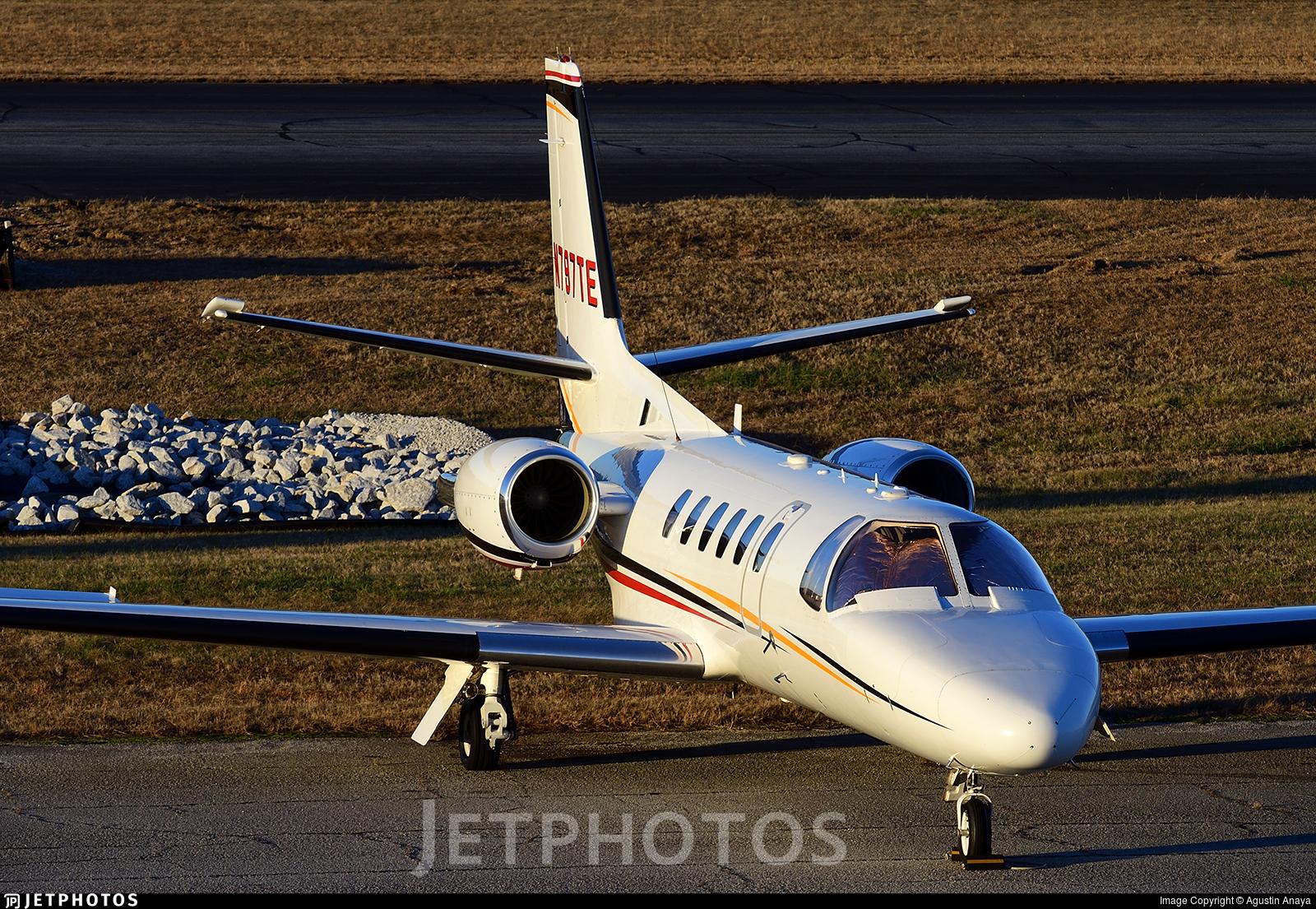 N797TE - Cessna 550B Citation Bravo - Private