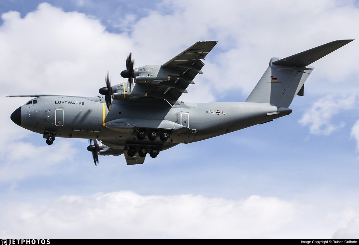 54-12 - Airbus A400M - Germany - Air Force