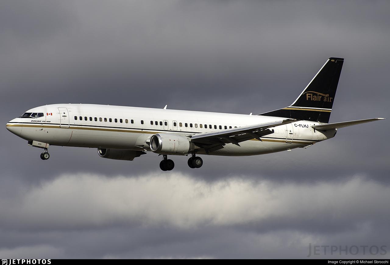C-FLHJ - Boeing 737-4Q8 - Flair Air