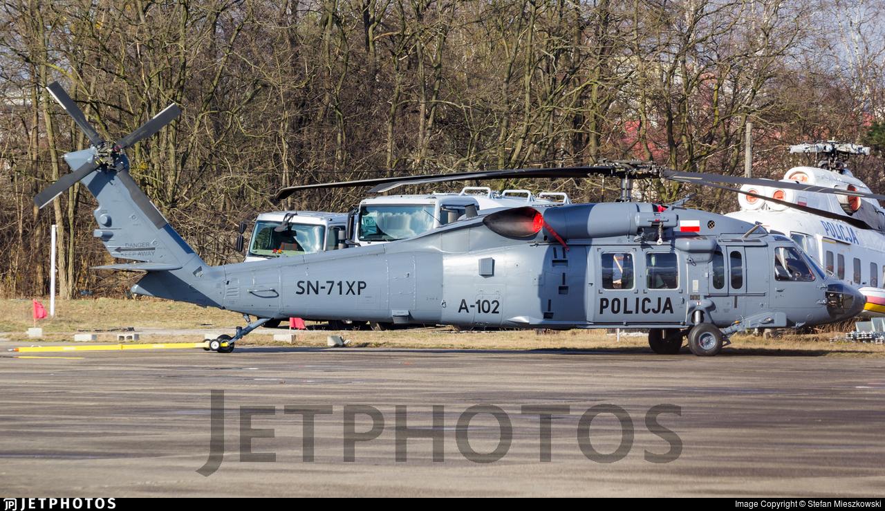 SN-71XP - Sikorsky S-70i Blackhawk - Poland - Police