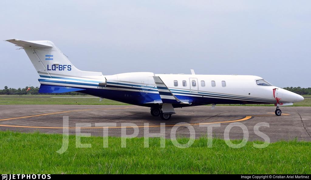 LQ-BFS - Bombardier Learjet 40 - Argentina - Government of the Province of Santiago del Estero