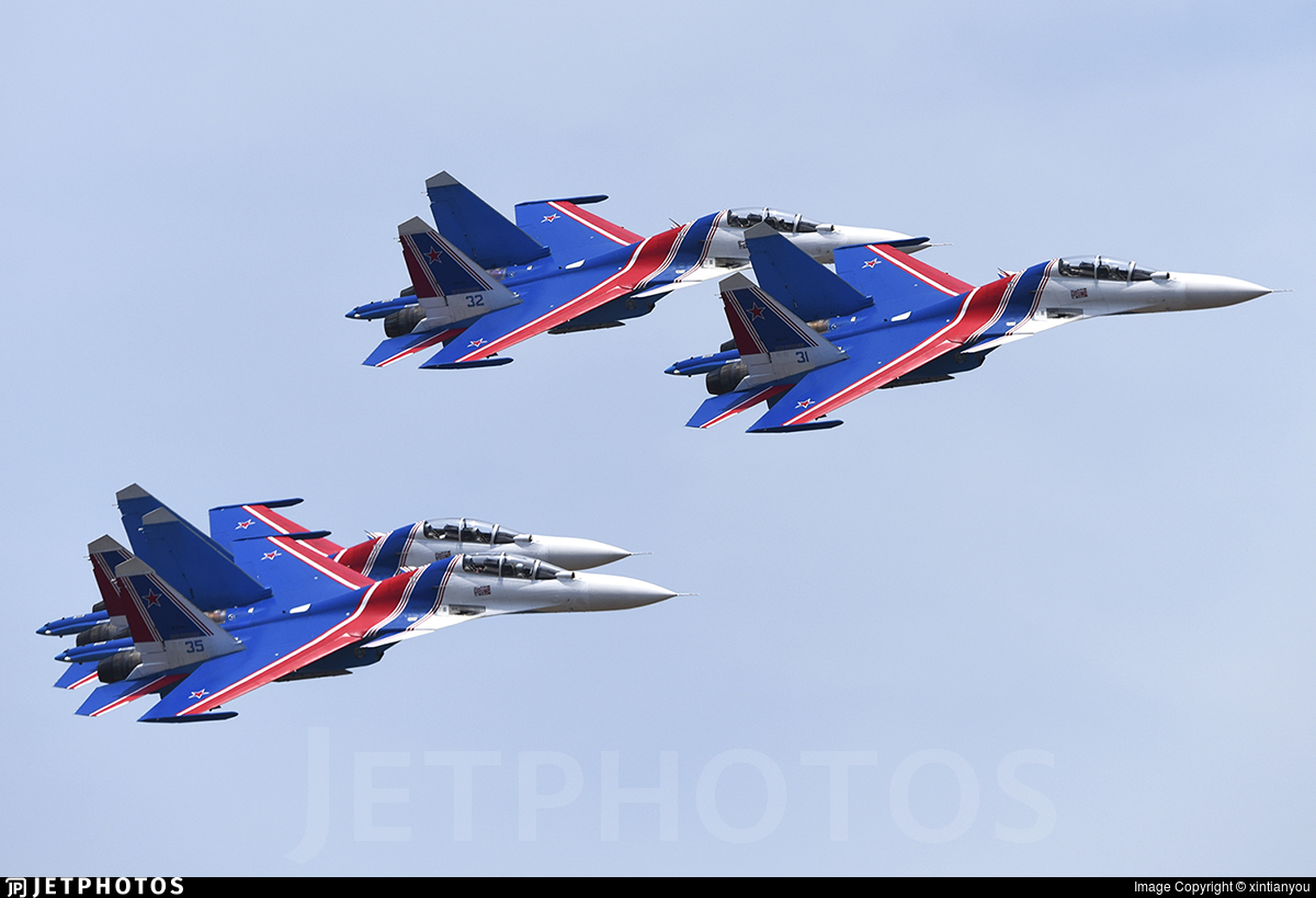 31 - Sukhoi Su-30SM - Russia - Air Force