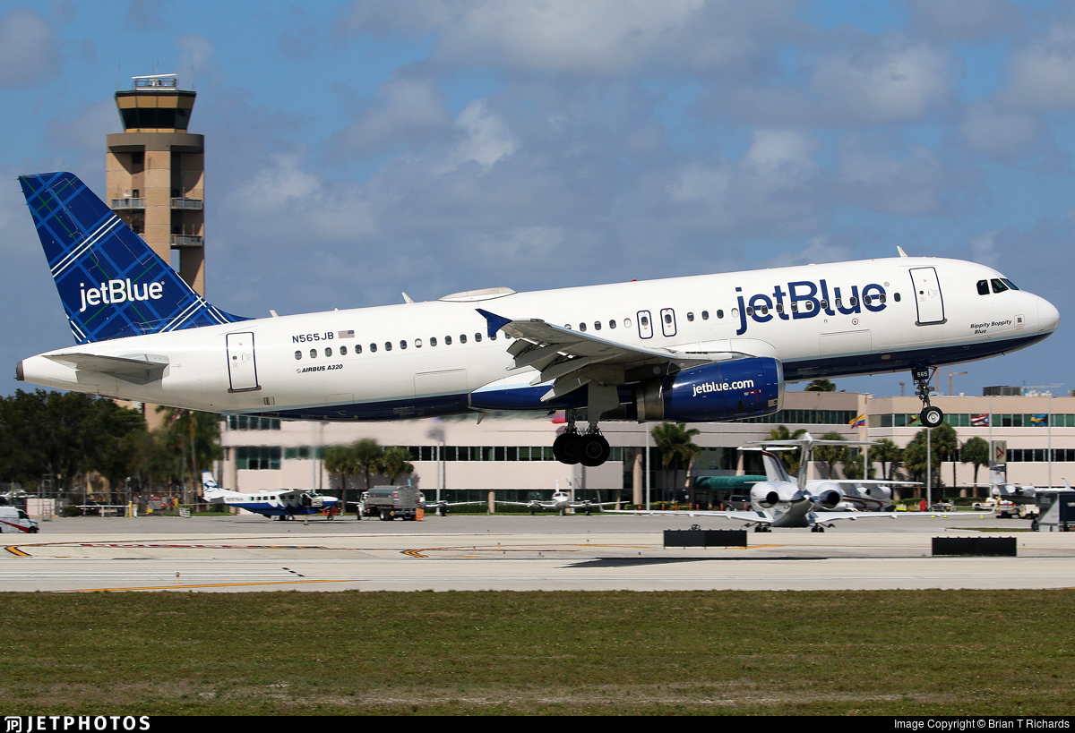 N565JB - Airbus A320-232 - jetBlue Airways