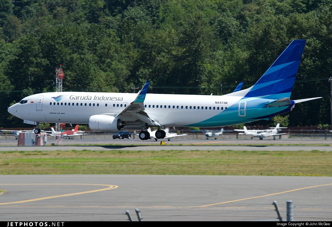 N5573K - Boeing 737-8U3 - Garuda Indonesia