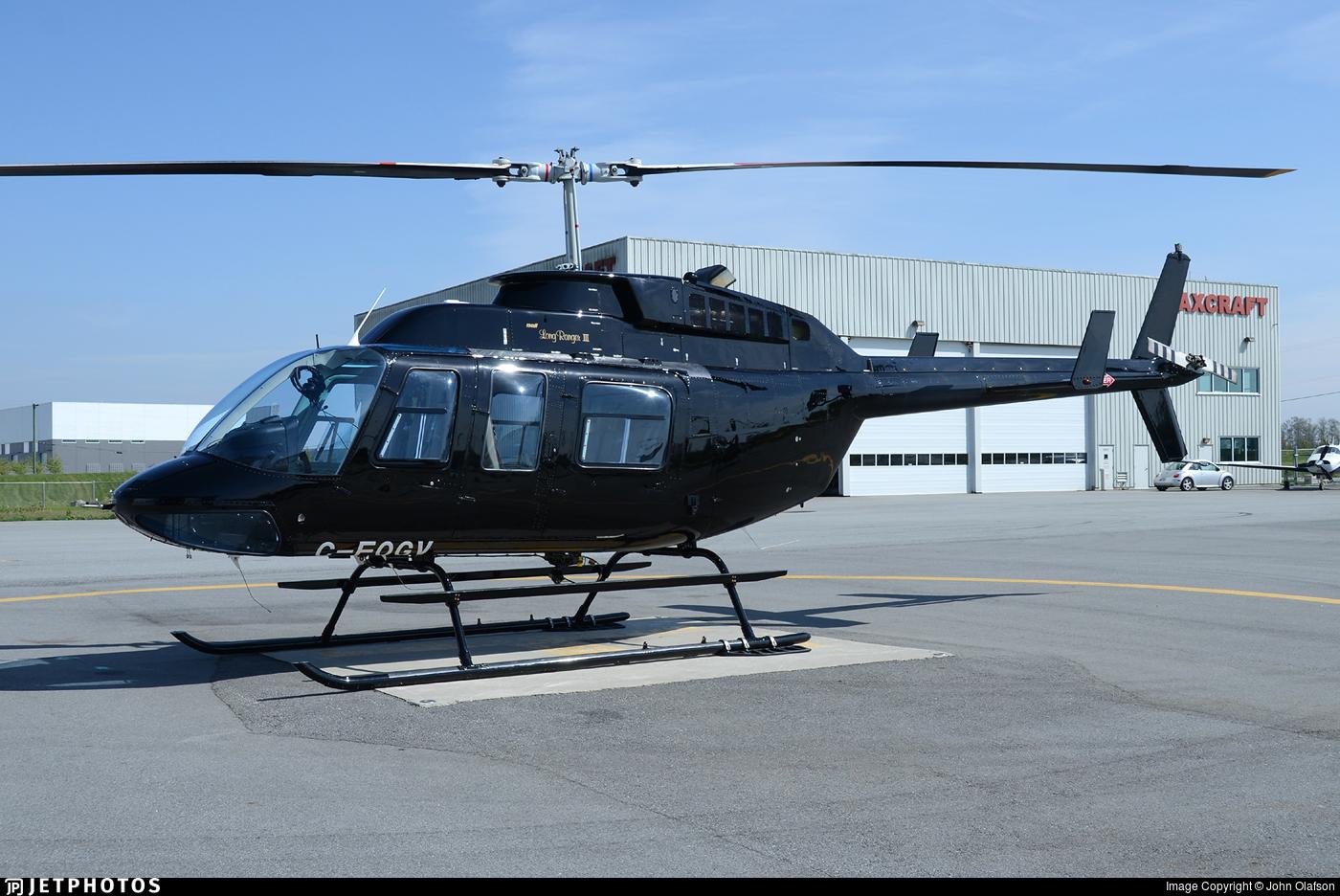 C-FOGV - Bell 206L-3 LongRanger - Sky Helicopters
