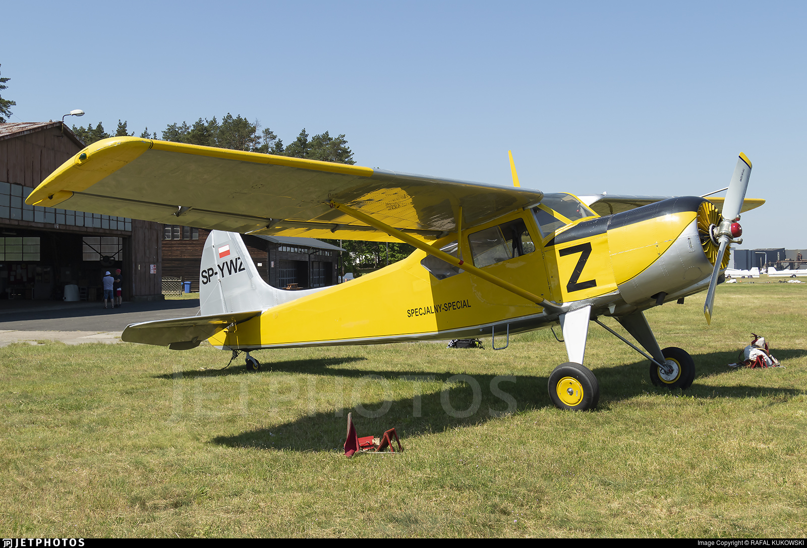 SP-YWZ - Yakovlev Yak-12A - Private