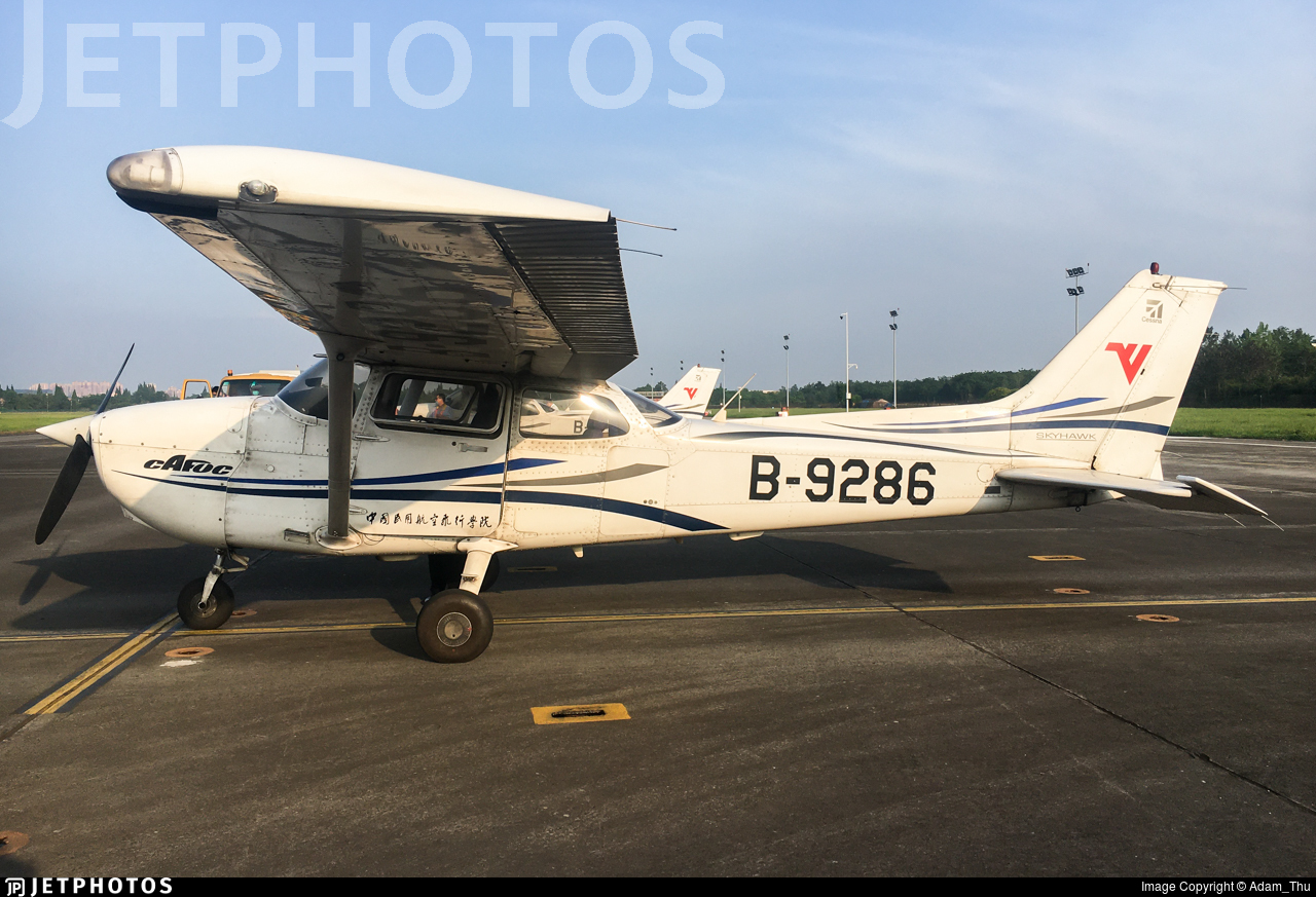 B-9286 - Cessna 172R Skyhawk - Civil Aviation Flight University of China