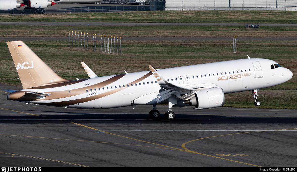D-AVVL - Airbus A320-251NCJ - Airbus Industrie