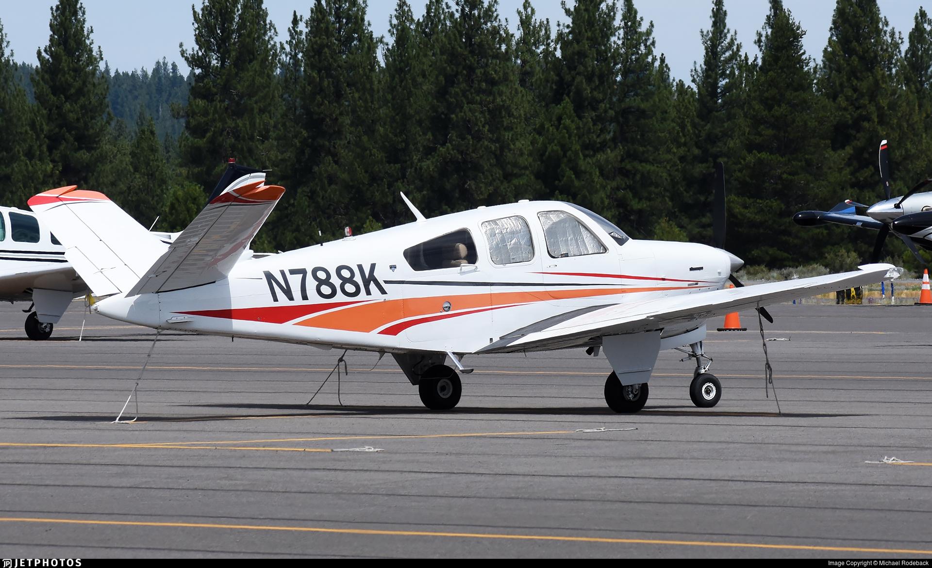 N788K - Beechcraft V35B Bonanza - Private