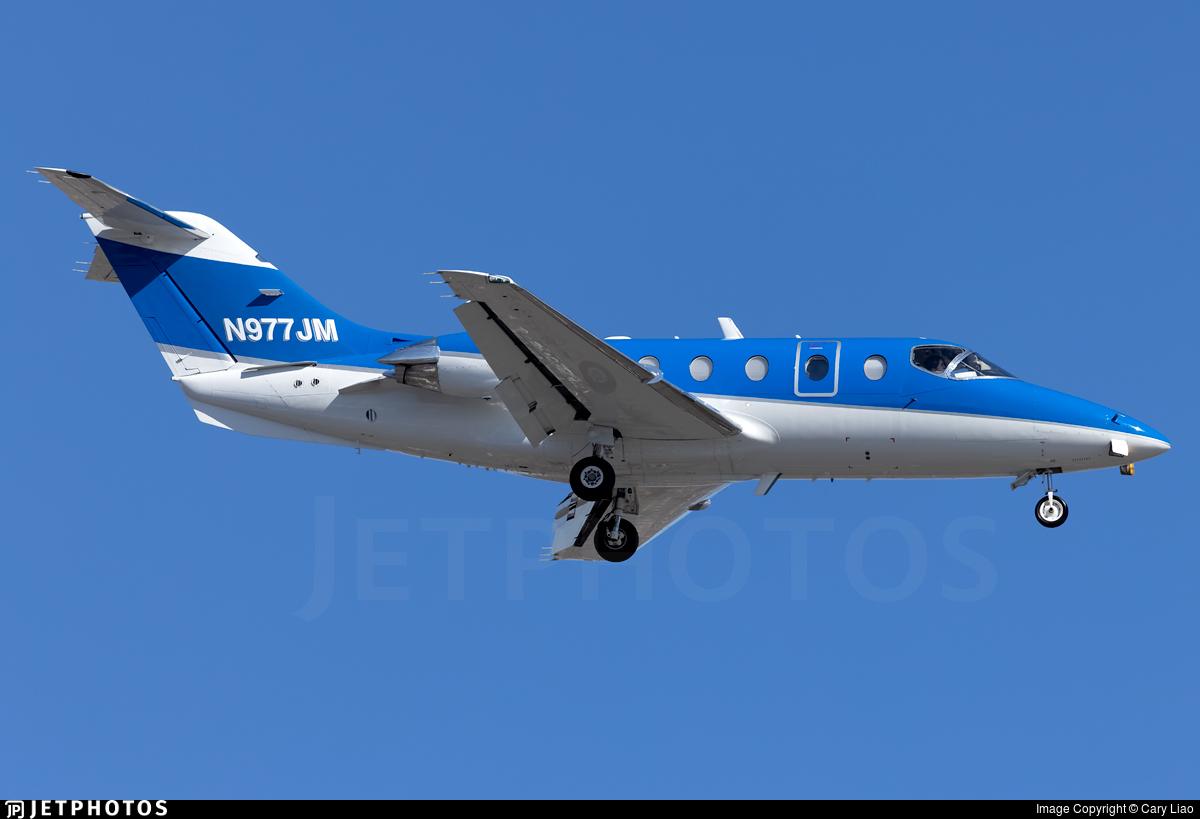 N977JM - Hawker Beechcraft 400A - Private