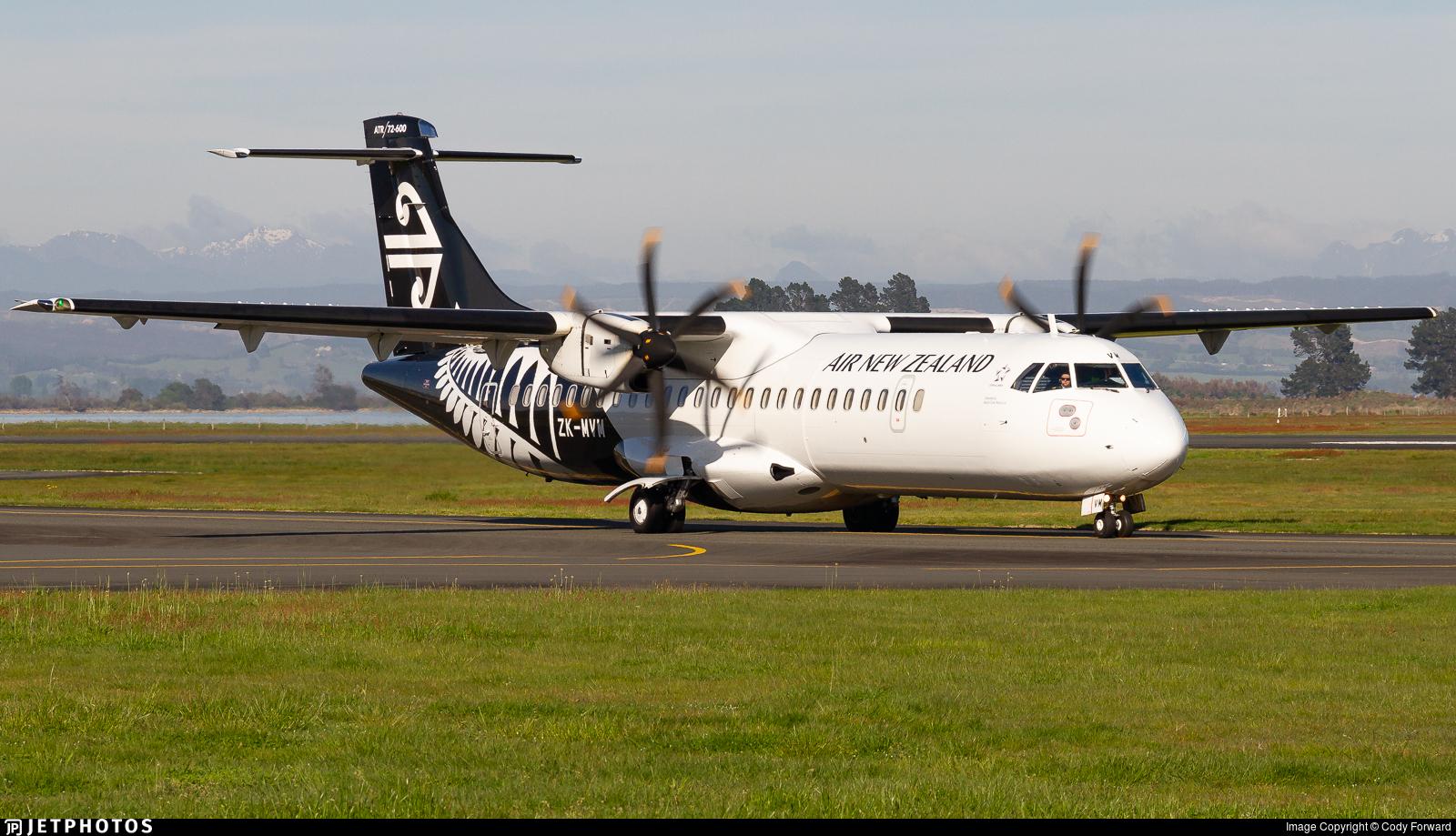 ZK-MVM - ATR 72-212A(600) - Air New Zealand Link (Mount Cook Airline)