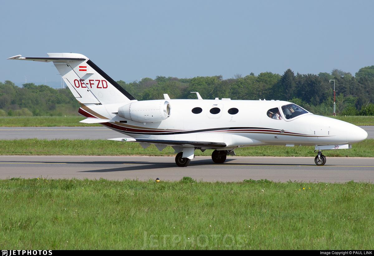 OE-FZD - Cessna 510 Citation Mustang - GlobeAir