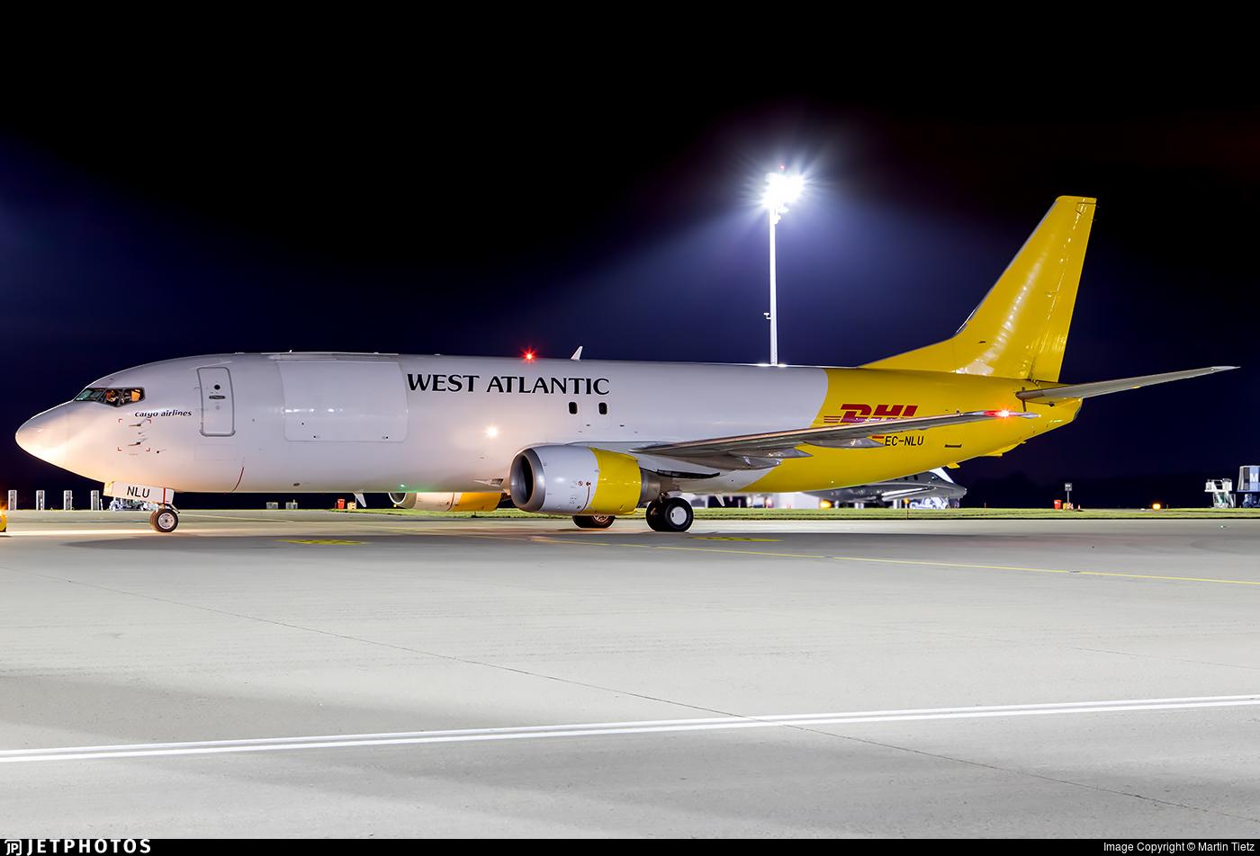 EC-NLU - Boeing 737-4Q8(SF) - Swiftair