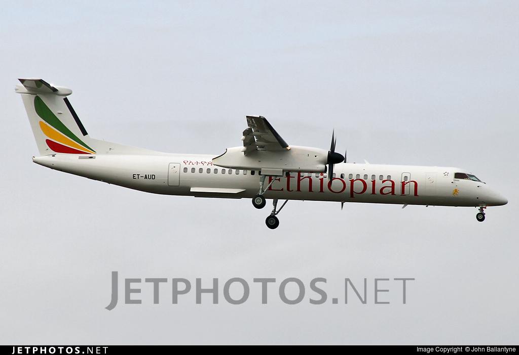 ET-AUD - Bombardier Dash 8-Q402 - Ethiopian Airlines