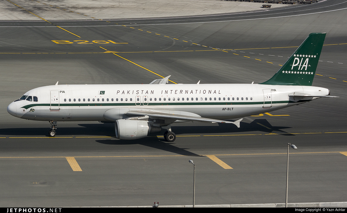 AP-BLT - Airbus A320-214 - Pakistan International Airlines (PIA)