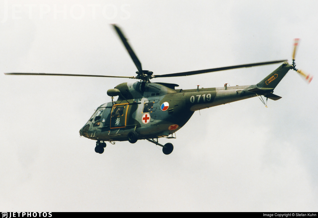 0719 - PZL-Swidnik W3A Sokol - Czech Republic - Air Force
