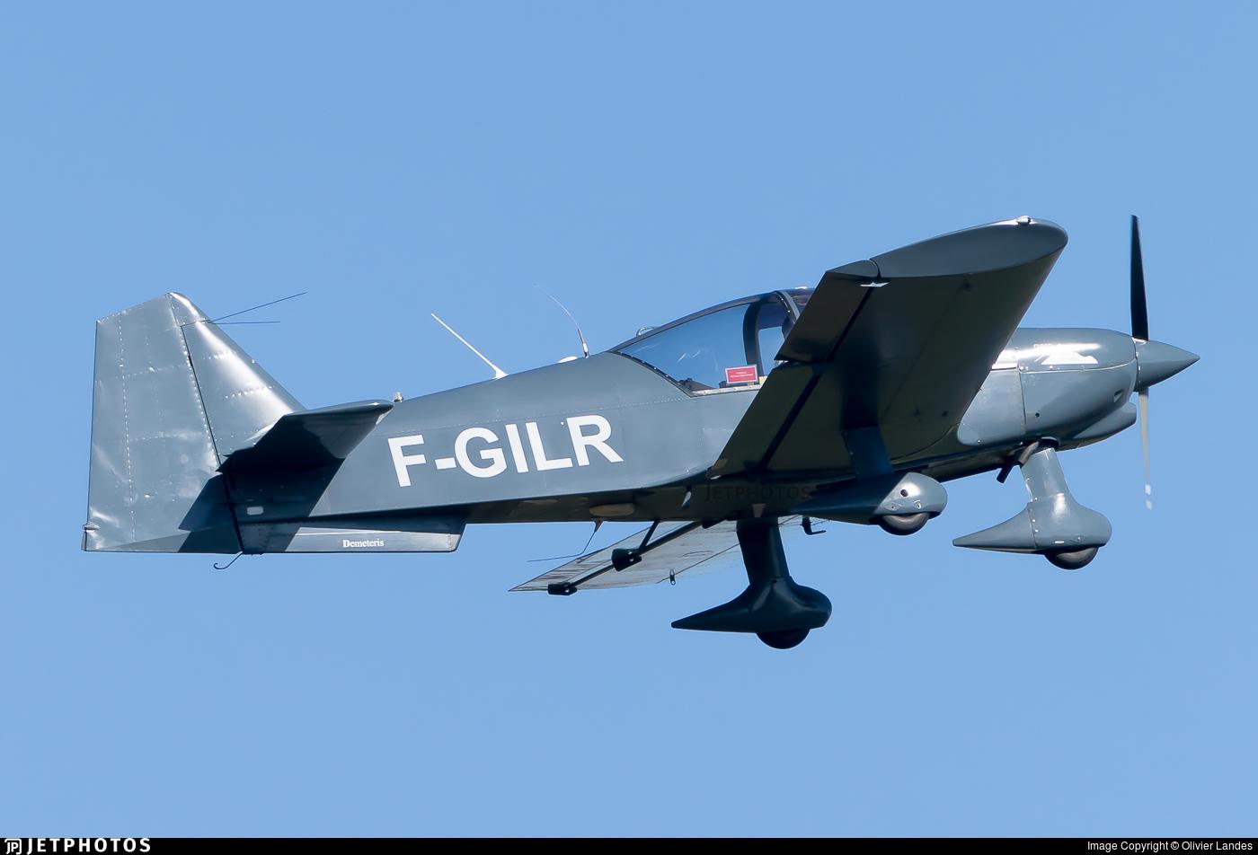 F-GILR - Robin R2160D - Aéropyrénées