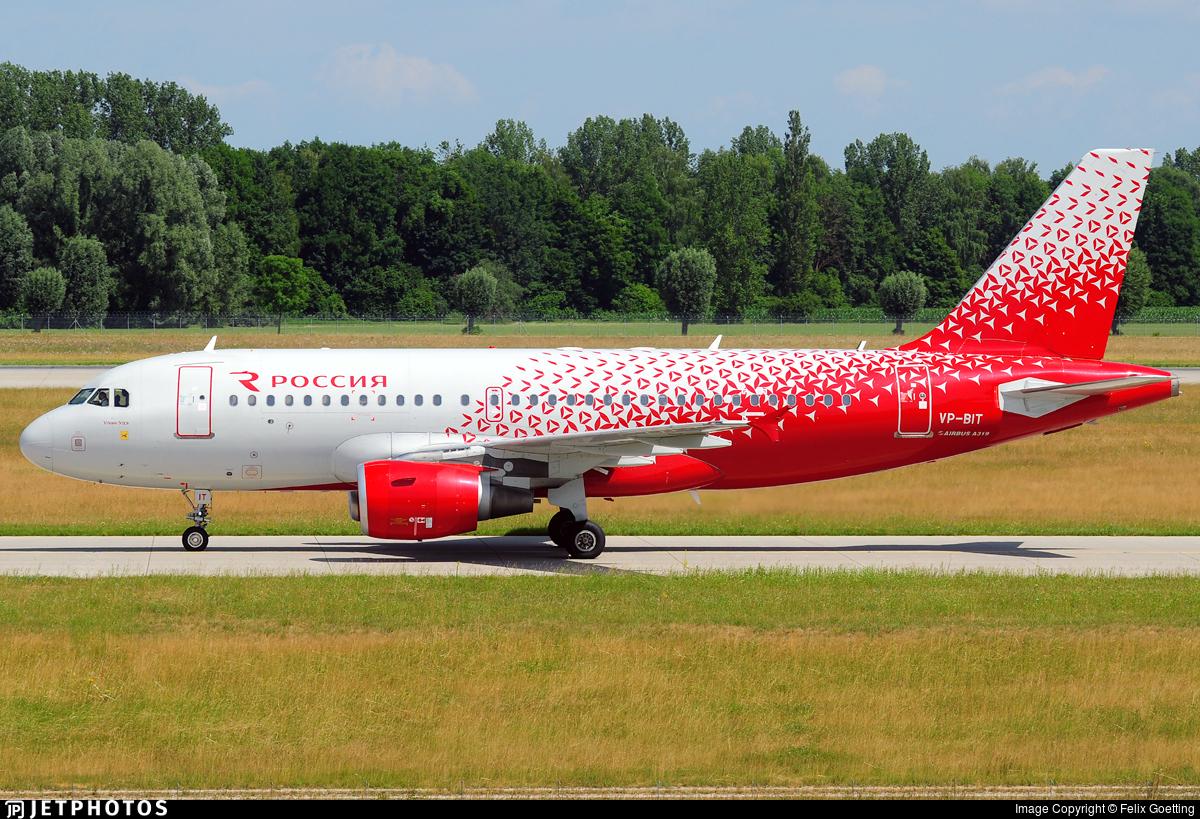 VP-BIT - Airbus A319-111 - Rossiya Airlines