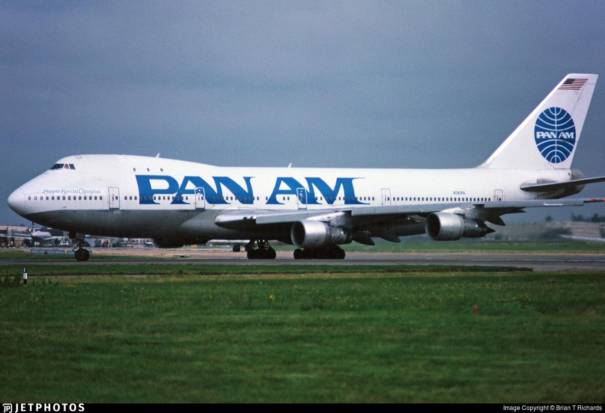 N741PA - Boeing 747-121 - Pan Am