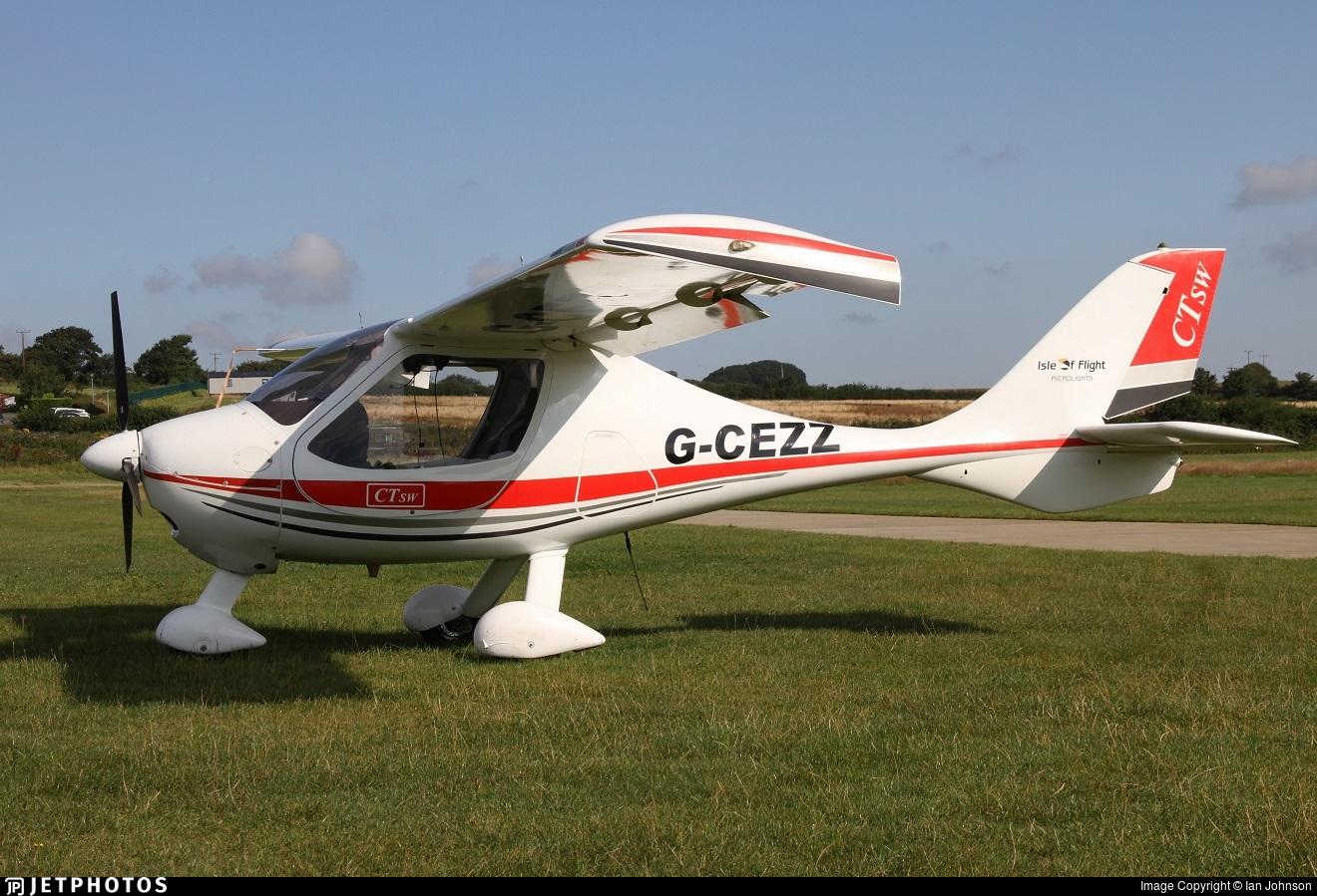 G-CEZZ - Flight Design CTSW - Isle of Flight Microlights