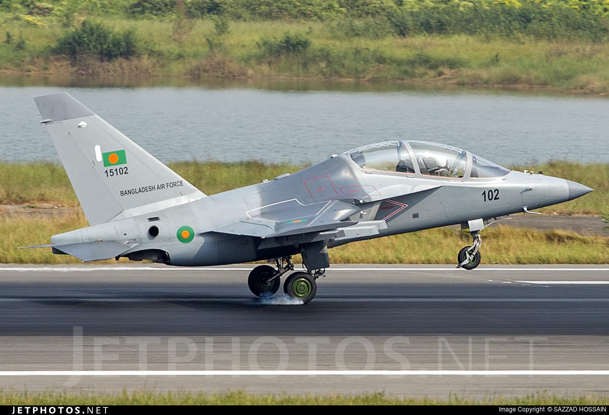 15102 - Yakovlev Yak-130 - Bangladesh - Air Force
