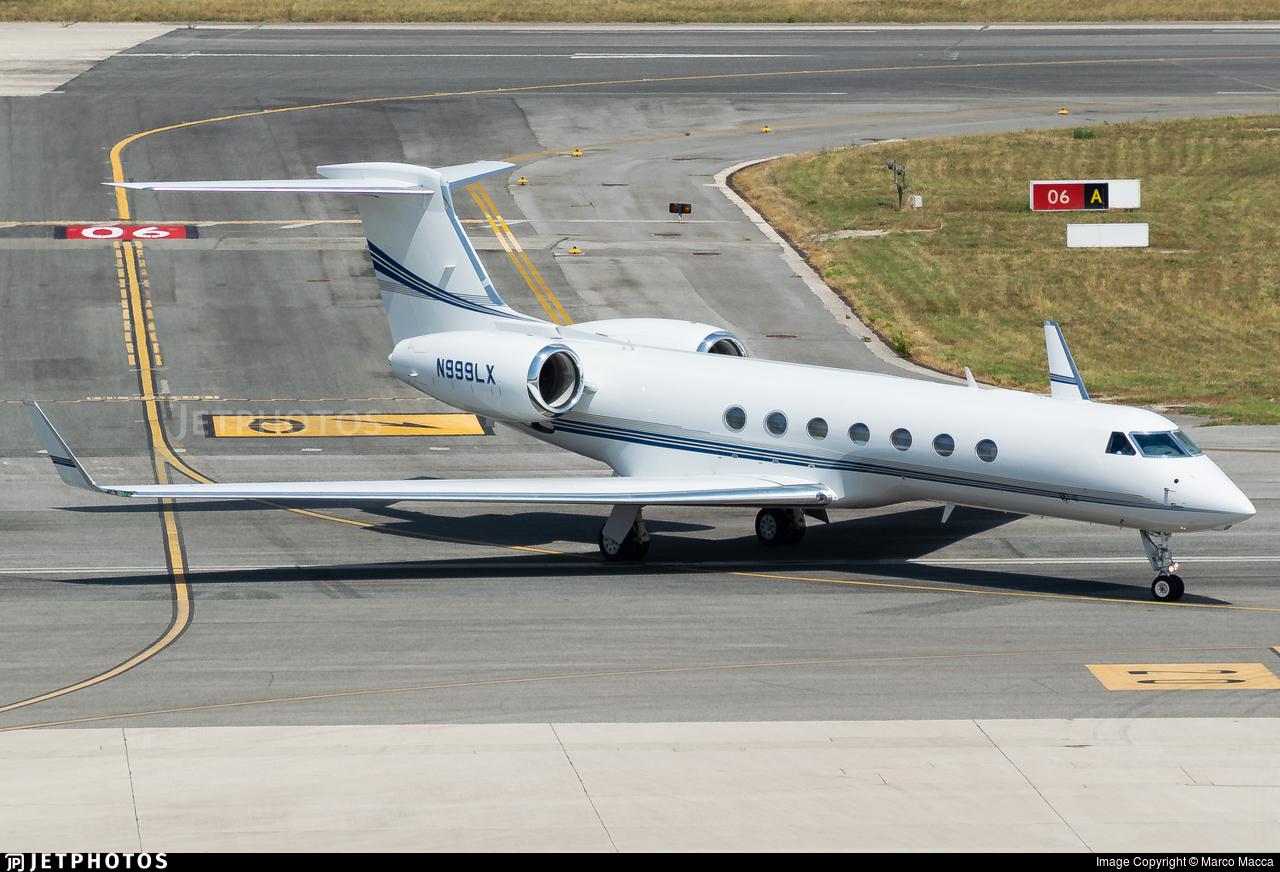 N999LX - Gulfstream G550 - Private