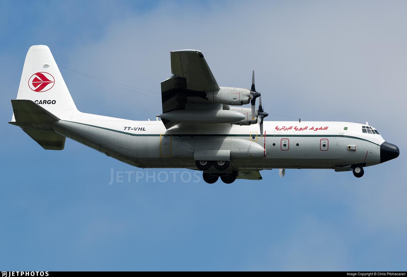 7T-VHL - Lockheed L-100-30 Hercules - Air Algérie
