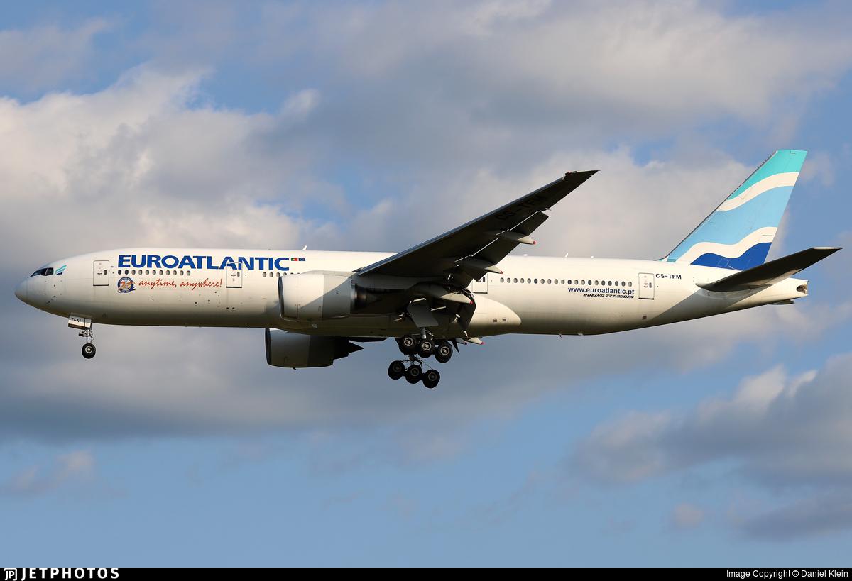 CS-TFM - Boeing 777-212(ER) - EuroAtlantic Airways