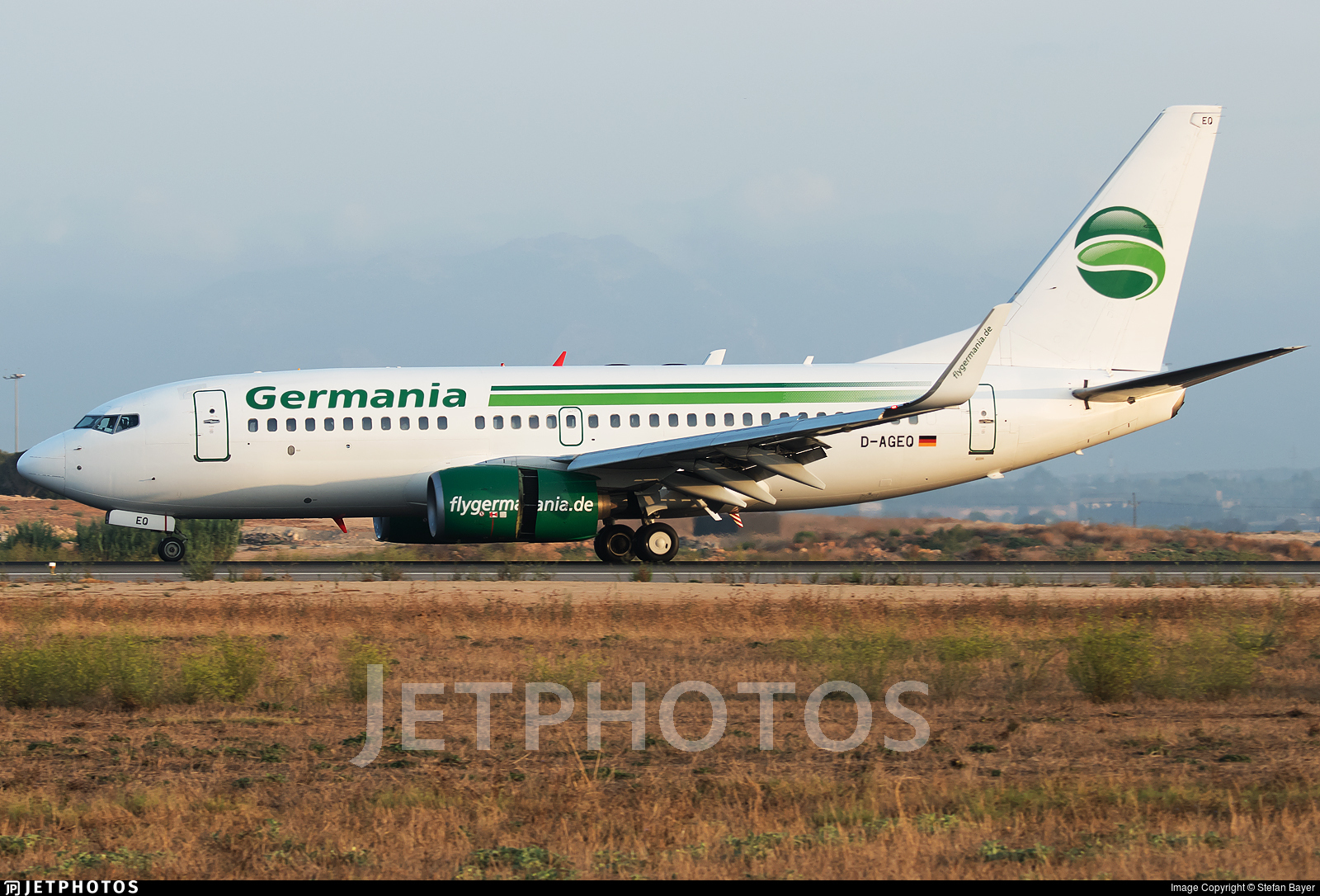 D-AGEQ - Boeing 737-75B - Germania