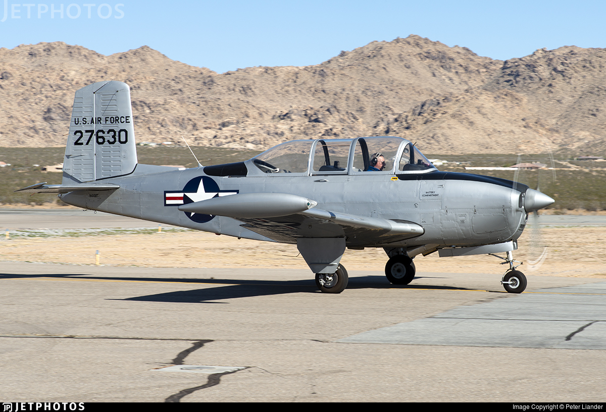 N44MT - Beechcraft A45 Mentor - Private