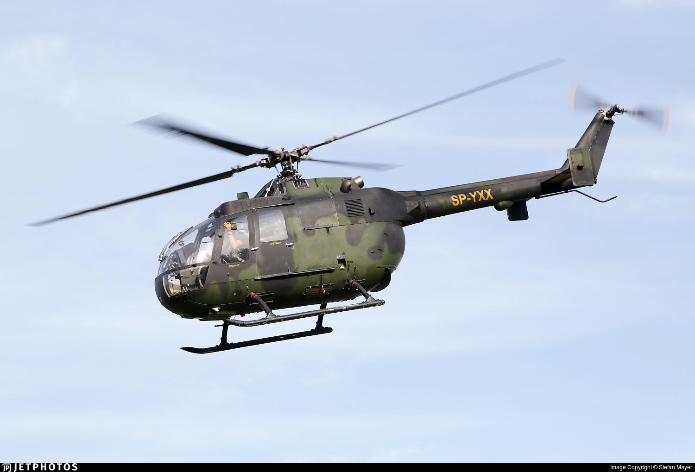 SP-YXX - MBB Bo105P1 - Private