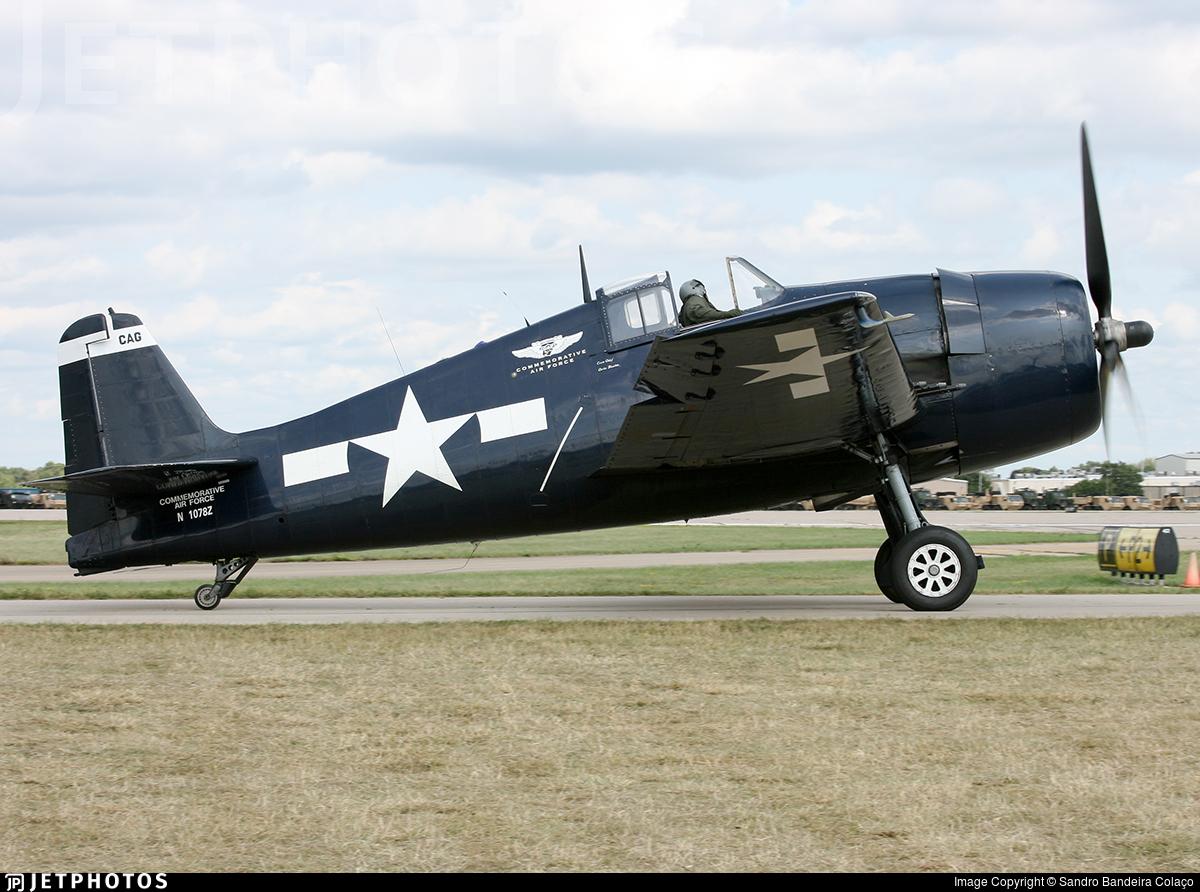 N1078Z - Grumman F6F-5 Hellcat - Private