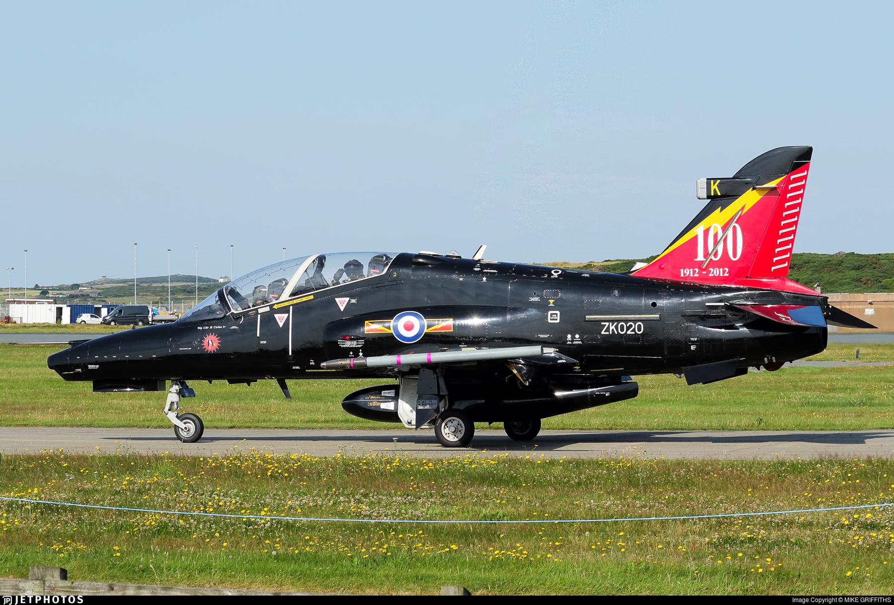 ZK020 - British Aerospace Hawk T.2 - United Kingdom - Royal Air Force (RAF)