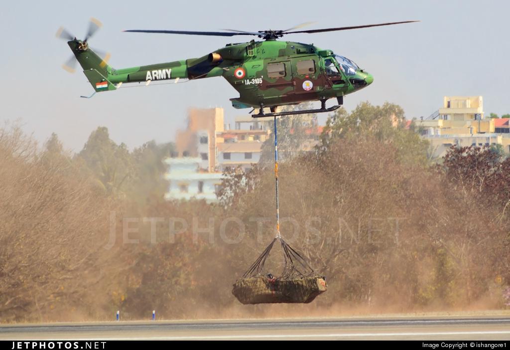 IA-3105 - Hindustan Aeronautics ALH Dhruv - India - Army