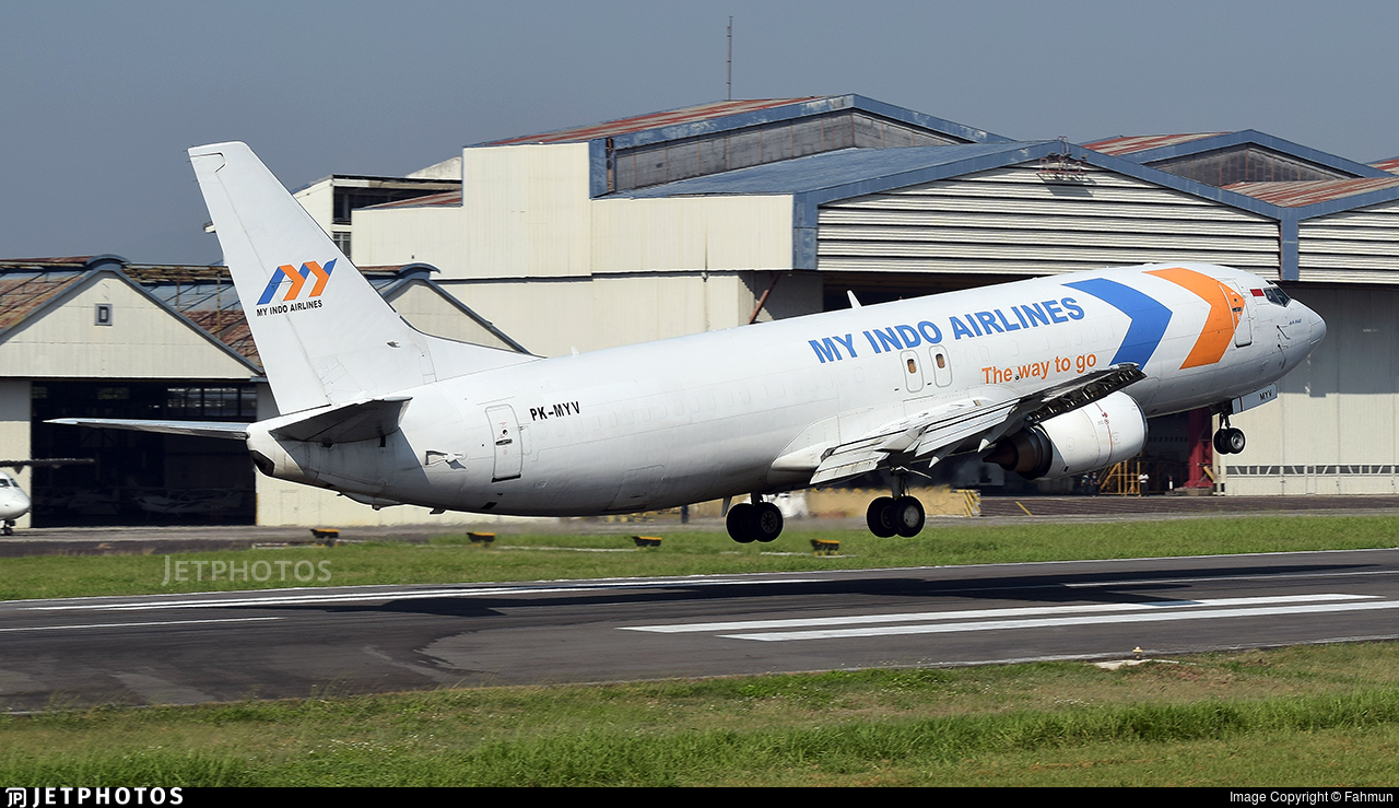 PK-MYV - Boeing 737-4B7(SF) - My Indo Airlines