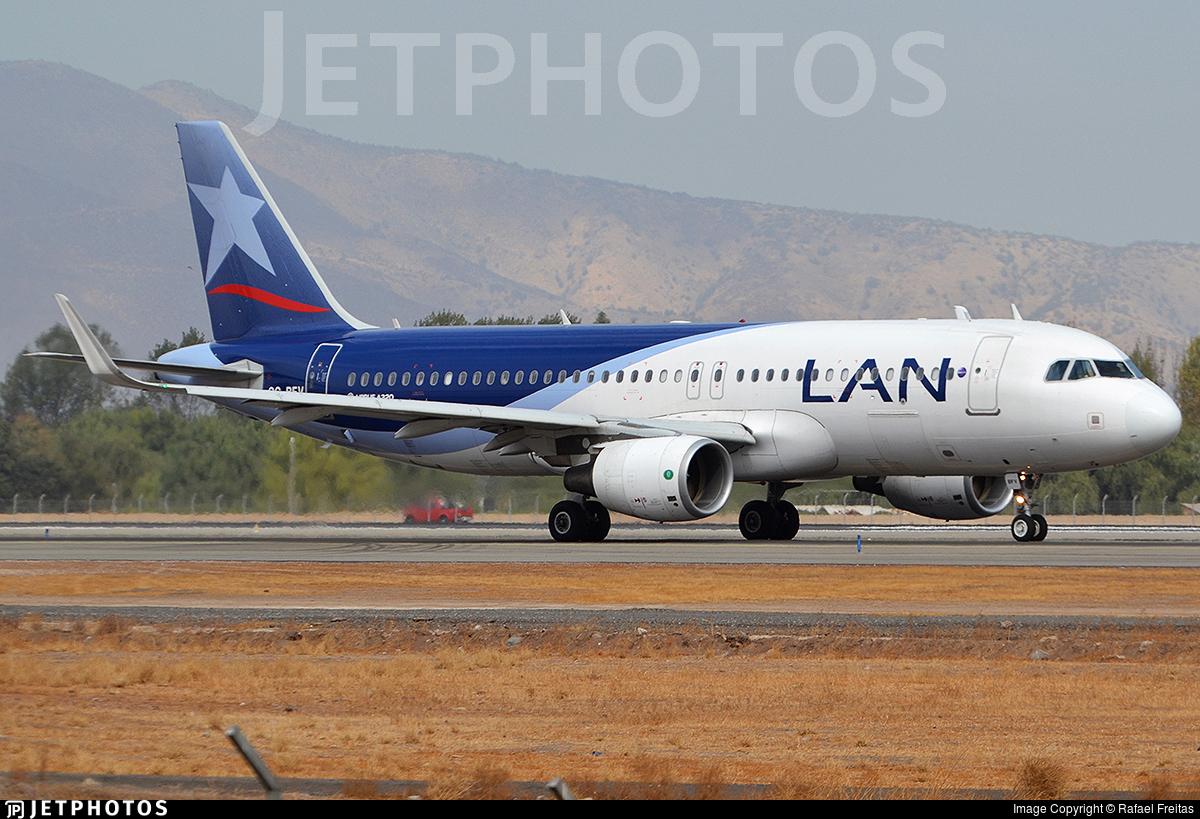 CC-BFV - Airbus A320-214 - LAN Airlines